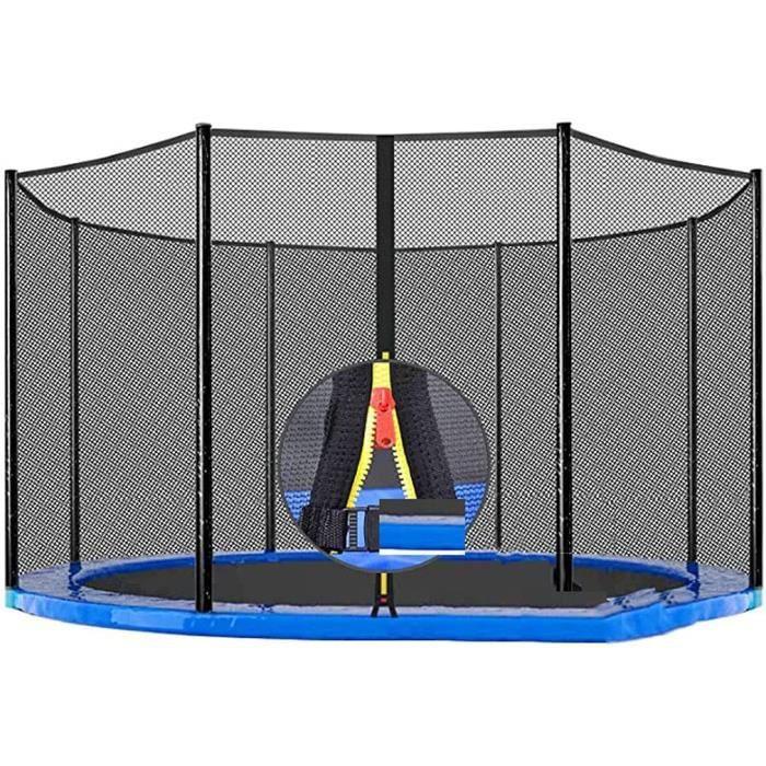 LVLUOKJ Filet de sécurité Rechange pour Trampoline Anti-Chute Anti-déchirure 6-8-12 Poteaux,pour Outdoor Trampoline de Jardin163