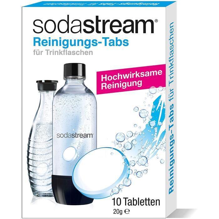 SodaStream 1090001491 Tablette de nettoyage pour gazéificateur Lot de 10