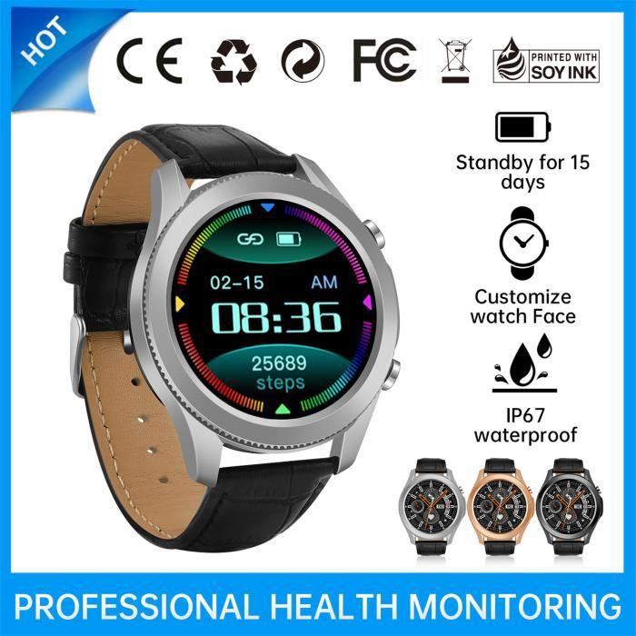 Smart watch Nouvelle montre intelligente Bluetooth W3 Mesure de la fréquence cardiaque d'appel plein écran FWX210305001SL