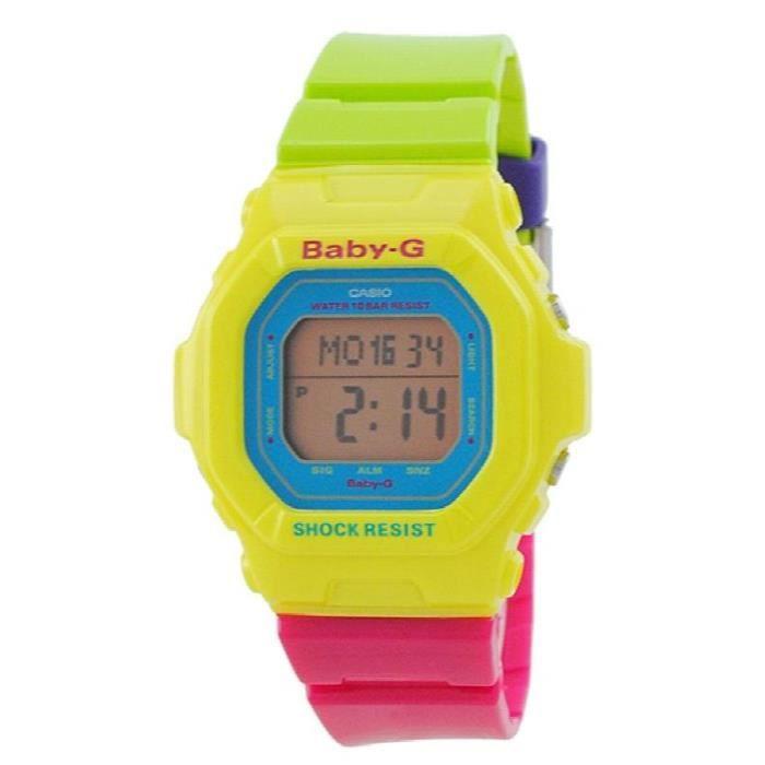 Montre Bracelet CASIO montre pour femme multicolore baby-g vivid bg-5607-9 KXNHF