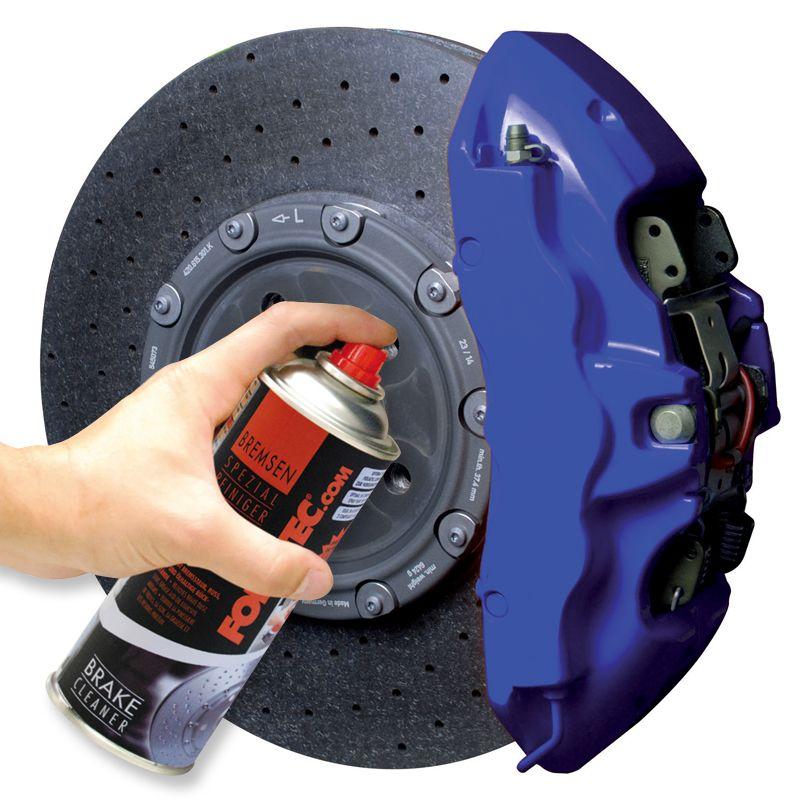 2133-Kit peinture FOLIATEC AEROLSOL BI-COMPOSANTS pour étrier de frein couleur: BLEUE