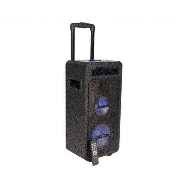 IBIZA FREESOUND350-CD - Système de sonorisation enceinte portable autonome 350W avec lecteur CD, USB, Bluetooth & télécommande