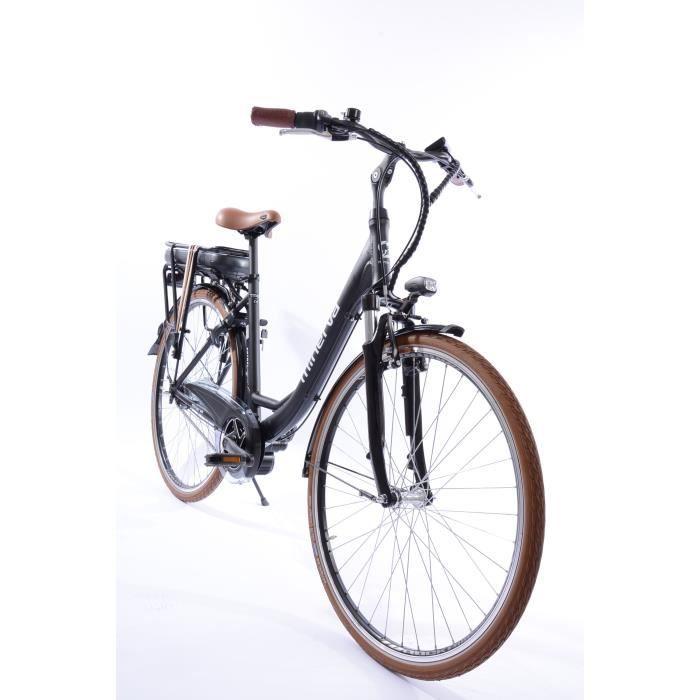 Vélo Estrel - Assistance électrique - Roues 28- - MINERVA - Femme - Noir