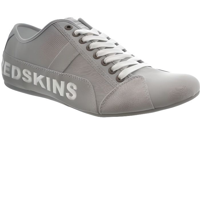 baskets mode redskins tempo gris