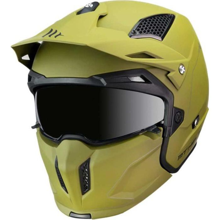 Protections Casques Mt Helmets Streetfighter Sv Solid