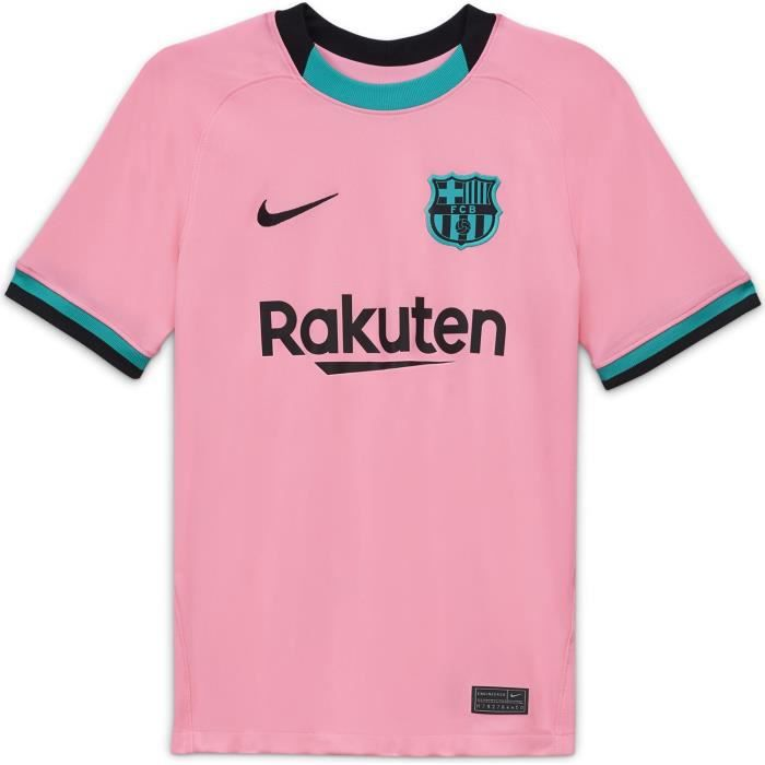 Maillot Nike Barcelone Third 2020-21 rose enfant