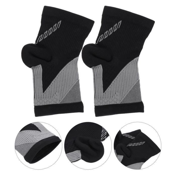 3 paires de manches de support de cheville Chaussettes anti-sincère protege-chevilles - chevillere protection du sportif