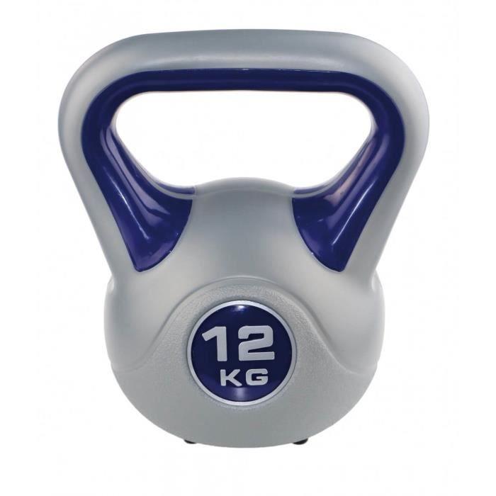 Kettlebell fit Sveltus 12 kg - gris-violet - TU