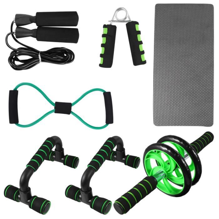 1 Set of Physical Fitness Equipment Metal for CORDE A SAUTER