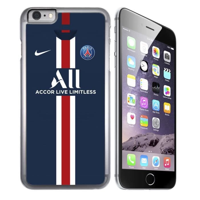 Coque iPhone 6-6S - Maillot PSG Football 2020. Acc