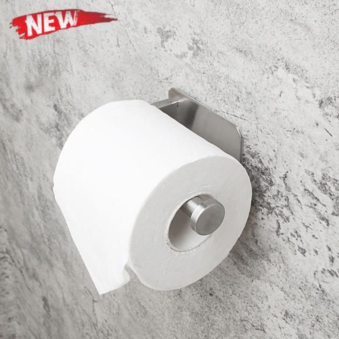Chrome Porcelaine papier tissu Étagère Support Mural Salle De Bain Papier Hygiénique Porte-rouleau