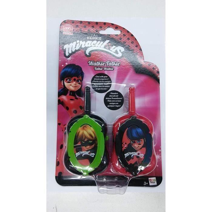 TALKIE-WALKIE JOUET JEC IMC TOYS Talkie-walkie Miraculous Ladybug