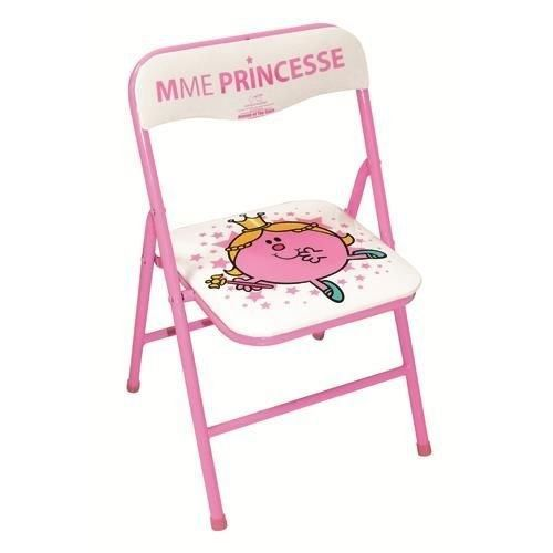 chaise pliante enfant madame princesse tropico achat vente chaise tabouret b b. Black Bedroom Furniture Sets. Home Design Ideas