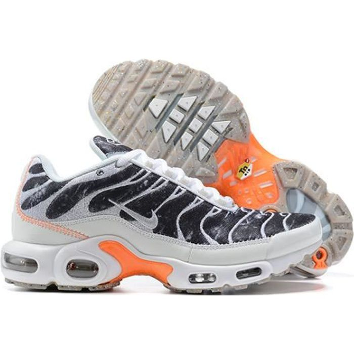 Basket NIKEs AIRs MAX TN Plus TxT Chaussures de Running Homme gris ...