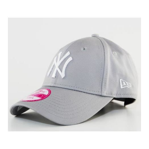 casquette femme new era ny yankees gris 9forty achat vente casquette 0888716758992 cdiscount. Black Bedroom Furniture Sets. Home Design Ideas