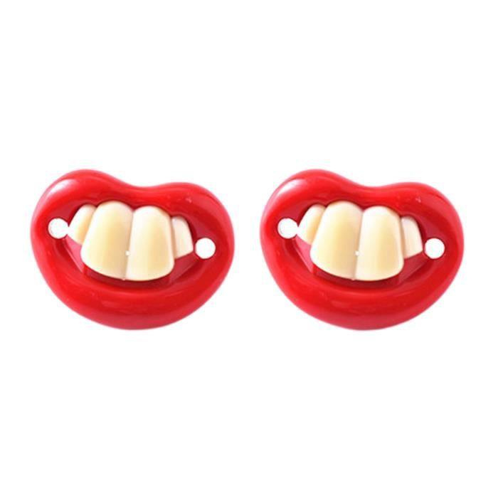 Fausses dents en acrylique pour Halloween et cosplay