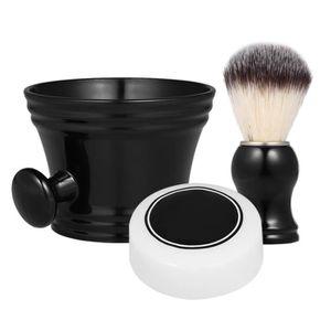 MOUSSE À RASER - GEL 3 pcs barbe traditionnelle outils de rasage Set We