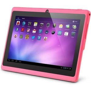 TABLETTE ENFANT ROSE Tablette tactile  Q88 7