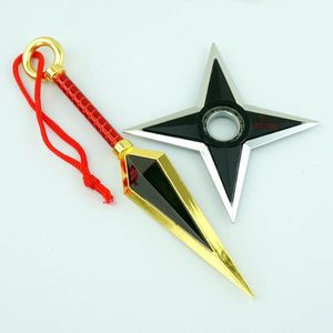 ACCESSOIRE MAQUETTE lot de 2 Naruto Kunai Shuriken rotatif noir