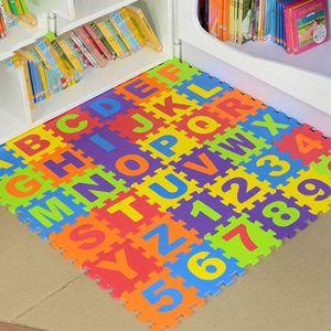 TAPIS PUZZLE Puzzle tapis mousse bébé Marqueune alphabet et chi