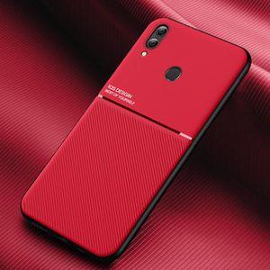 Coque Huawei Honor 8X Core Housse [Fibre de Carbone] Silicone TPU Souple Durable et Flexible AntiChoc Etui