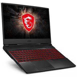 ORDINATEUR PORTABLE MSI GL65 9SE-052FR - Intel Core i7-9750H 16 Go SSD