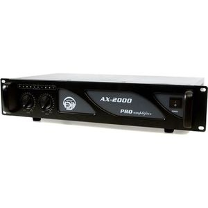 AMPLI PUISSANCE Amplificateur sono 2 x 1000W - AX-2000 MY DEEJAY