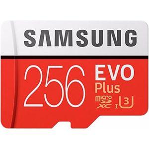 CARTE MÉMOIRE Samsung 256GB EVO Plus Class 10 UHS-I microSDXC U3
