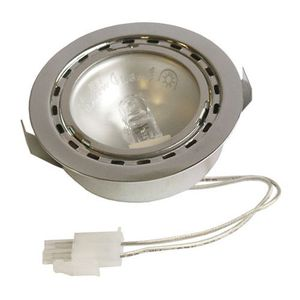 PIÈCE APPAREIL CUISSON 00175069. LAMPE HALOGENE + SUPPORT