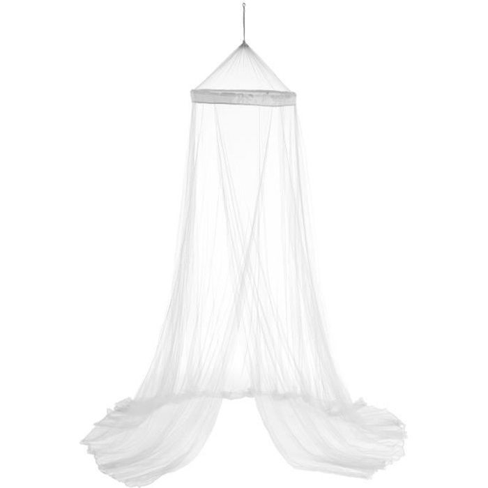 Ciel de lit Plume - 60 x 250 cm - Blanc