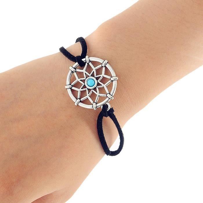 CARILLON A VENT - CARILLON EOLIEN,MIAMOR Mini Bracelet capteur de rêves - Type Bracelet #B