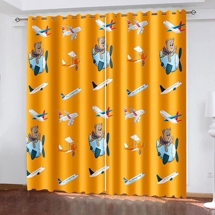 FACWAWF Rideaux d'impression 3D Occultants en Polyester pour Chambre À Coucher, Salon, Appartements D'Hôtel, Adaptés pour Couvri278