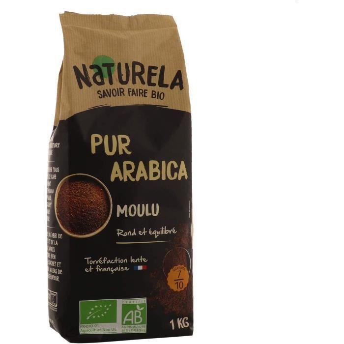Café Moulu Bio Pur Arabica - 1 kg