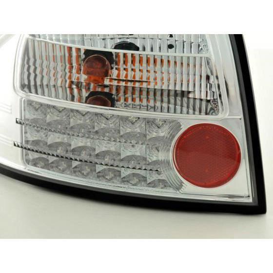 LED Feux arrières pour Audi A6 Limo (type 4B) année 97-03, chrome - - année: 1997 à 2003- couleur: chrome