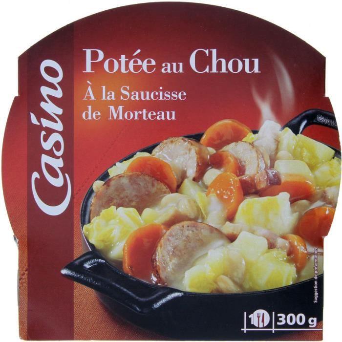 Potée au Chou à la Saucisse de Morteau - 300g