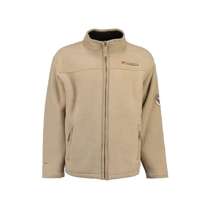 Polaire Homme Geographical Norway Usine Beige