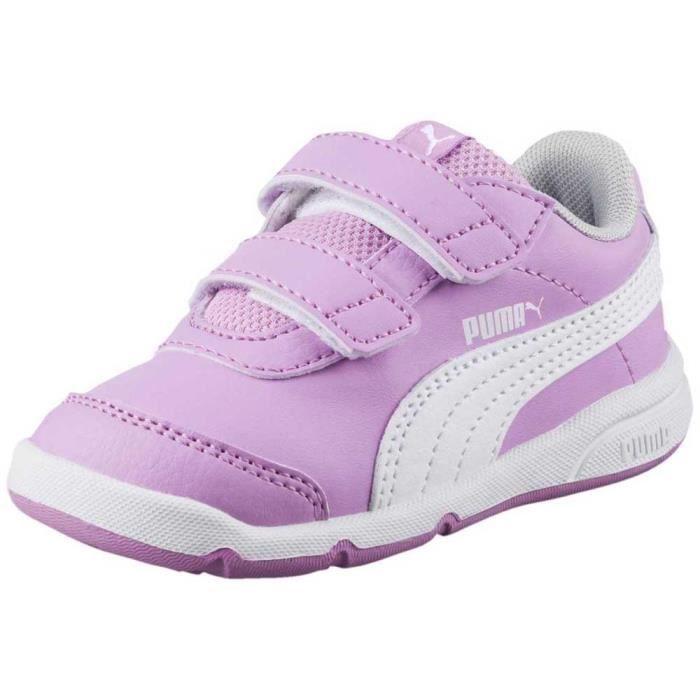 chaussures enfant baskets puma stepfleex 2 sl velcro ps. cette saison puma met une touche fraîche et moderne sur notre favori puma s