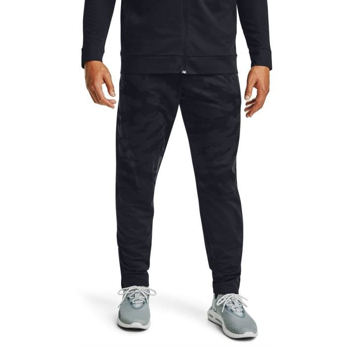 Pantalon de survêtement Under Armour Sportstyle Pique - noir/noir - M