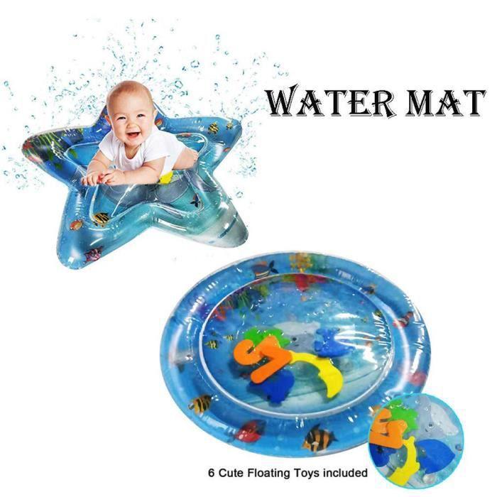 1Pc Bébé Tapis D'eau Gonflable Tapis de Jeu Coussin Jouets d'Amusement