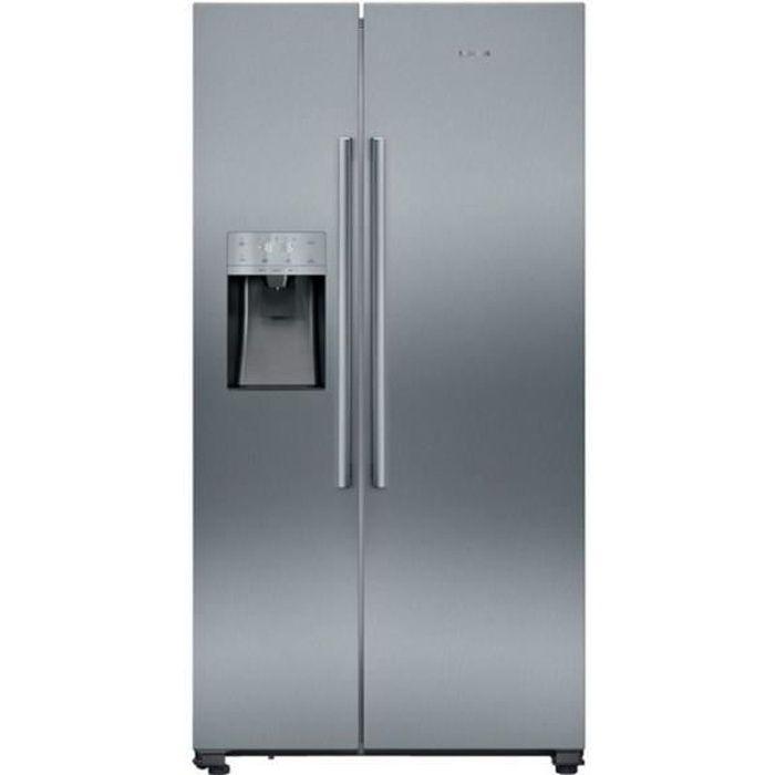 siemens - réfrigérateur américain 91cm 533l a++ nofrost inox - ka93daiep