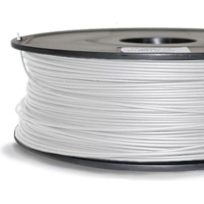 FIL POUR IMPRIMANTE 3D Filament plastique PLA sur bobine 1kg 1,75mm pour