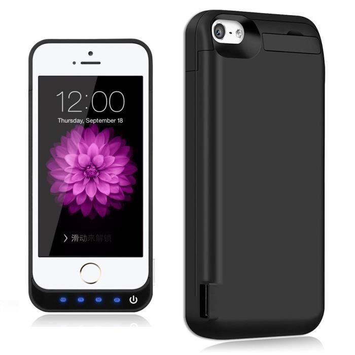 coque batterie pour iphone 5 5s 5c se 4800