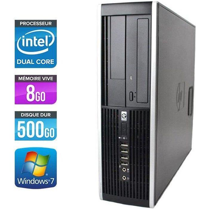 UNITÉ CENTRALE  HP Elite 8300 SFF -Intel G870 3.1GHz - 8Go - 500Go