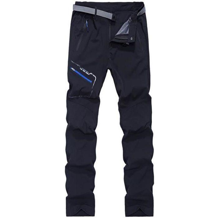 KOUDYEN Homme Pantalon de Trekking Respirant /à S/échage Rapide L/éger Randonn/ée Montagne Camping en Plein Air