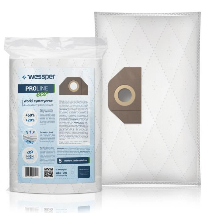 Vorwerk ET31 Aspirateur Sac en Papier Pack 5