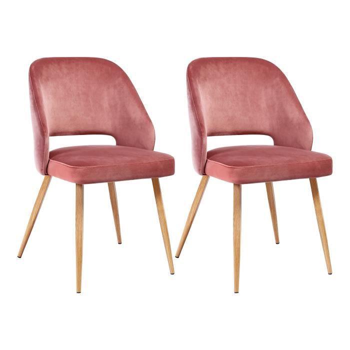 chaise scandinave songmics
