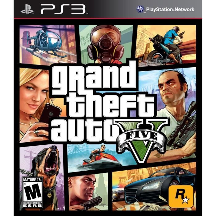 gta v jeu ps3 sony univers playstation 3 gamingpascher. Black Bedroom Furniture Sets. Home Design Ideas