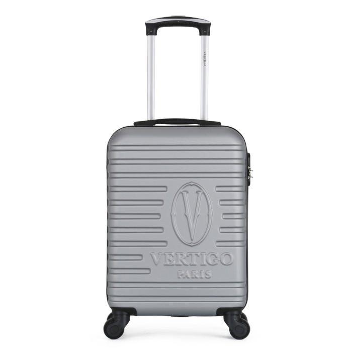 VALISE - BAGAGE VERTIGO – VALISE CABINE   ABS – 50cm – 4 roues – M