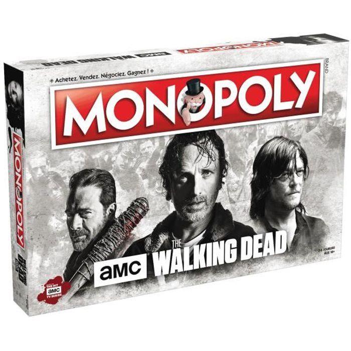 JEU SOCIÉTÉ - PLATEAU MONOPOLY The Walking Dead - Jeu de societé - Versi