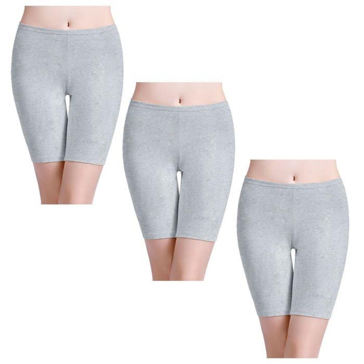 Panty Coton Cycliste Shorty Femme Long Culottes
